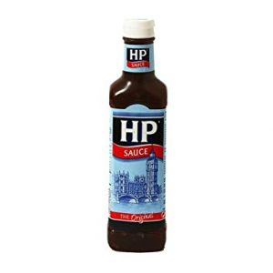 The joy of brown sauce….