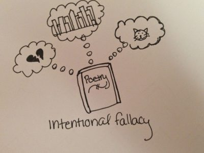 More literary theory that you really do not have to know…..The Intentional Fallacy