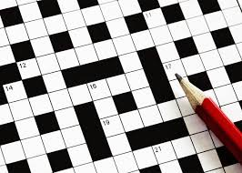 A short history of the Crossword…..