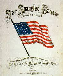 The Star Spangled Banner is in fact British !…..