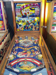 A very, very short history of the pinball machine…..