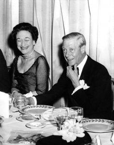 Caesar salad and Wallis Simpson……