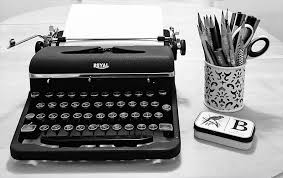 A very short history of the typewriter…….