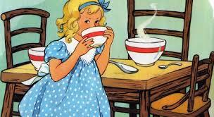 The strange story of Goldilocks….