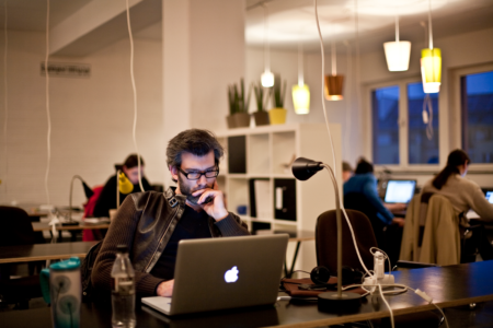 A very short history of coworking…